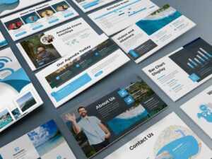 Locago – Tourism Powerpoint Templateslidefactory On Dribbble regarding Tourism Powerpoint Template