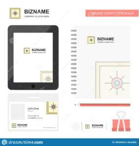 Locker Business Logo, Tab App, Diary Pvc Employee Card And with Pvc Card Template
