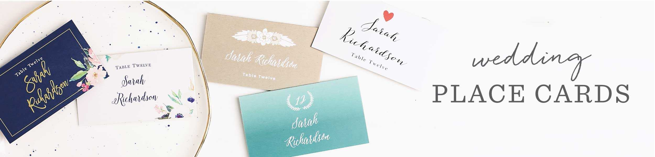 Love Knots Place Cards With Regard To Table Name Cards Template Free