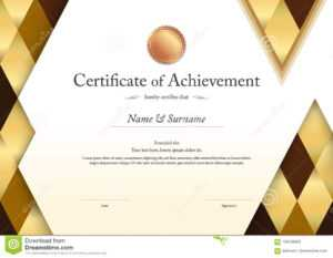 Luxury Certificate Template With Elegant Border Frame regarding Elegant Certificate Templates Free