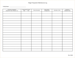 Maintenance T Template Schedule Excel Free Format Building intended for Mechanic Job Card Template