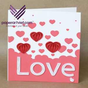 Make A Heart Pop-Up Card | Wholesale Pop-Up Cards Supplier throughout Pixel Heart Pop Up Card Template