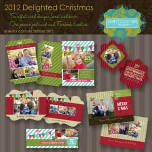 Marketing Templates For Photographers | Simply Couture intended for Free Photoshop Christmas Card Templates For Photographers