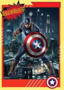 Marvel Trading Cards On Behance intended for Superhero Trading Card Template