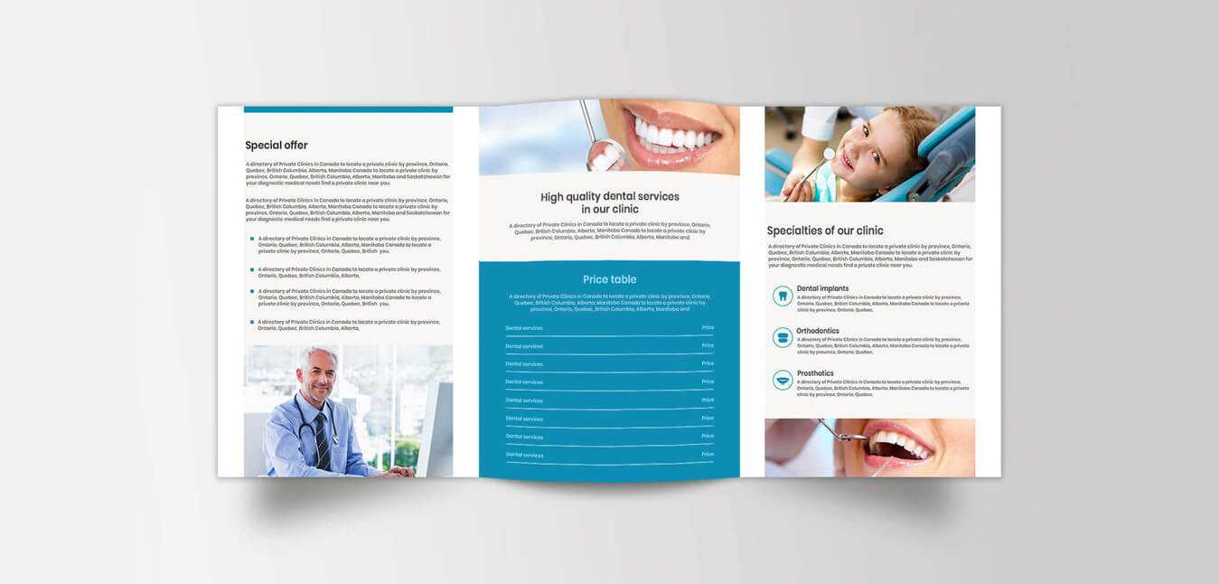 Medical Brochure Design – Medical Office/device Brochure Inside Medical Office Brochure Templates