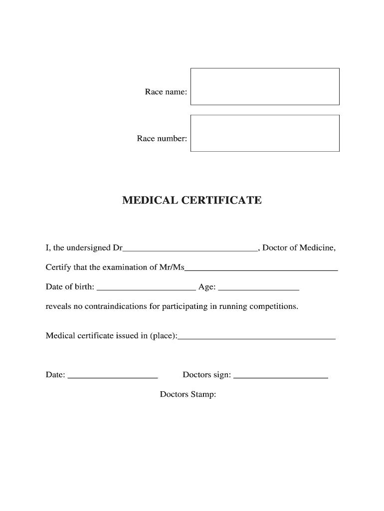 Medical Certificate Form - Fill Online, Printable, Fillable Within Fake Medical Certificate Template Download