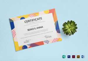 Membership Certificate Template throughout Indesign Certificate Template