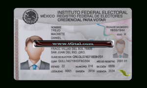 Mexico Id Card Template Psd Photoshop for Social Security Card Template Photoshop