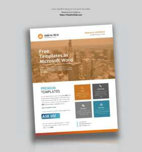 Microsoft Flyer Template – Oflu.bntl inside Free Church Brochure Templates For Microsoft Word