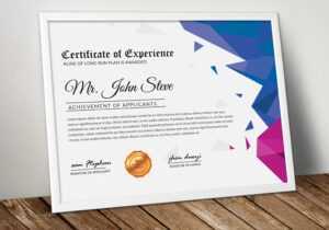 Microsoft Word Certificate Template – Vsual within Microsoft Word Certificate Templates