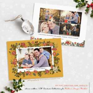 Millers Lab Christmas Templates — Journal — Elena Wilken within Holiday Card Templates For Photographers
