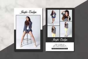 Model Comp Card – Sistec regarding Comp Card Template Download