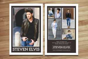 Model Comp Card / Zed Card Collections On Behance with regard to Comp Card Template Download