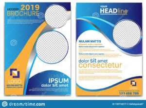 Modern Brochure Template 2019 And Professional Brochure inside School Brochure Design Templates