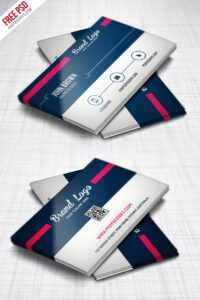 Modern Business Card Design Template Free Psd – Uxfree throughout Modern Business Card Design Templates