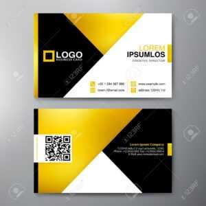 Modern Business Card Design Template. Vector Illustration throughout Modern Business Card Design Templates