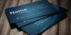 Modern Business Card Template with Buisness Card Templates