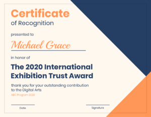 Modern Certificate Of Recognition Template with regard to Template For Certificate Of Award