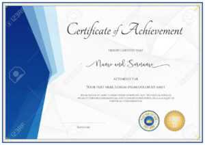 Modern Certificate Template For Achievement, Appreciation, Participation.. pertaining to In Appreciation Certificate Templates