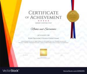 Modern Certificate Template With Elegant Border intended for Christian Certificate Template