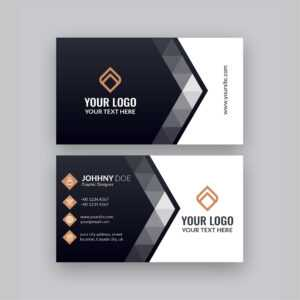 Modern Company Visiting Card Template   Free Business Card in Designer Visiting Cards Templates