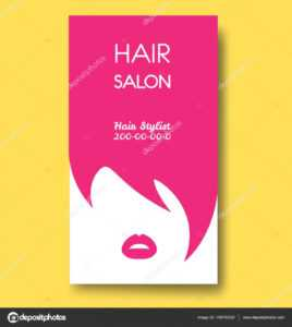 Modern Hair Stylist Business Cards | Hair Salon Business for Hair Salon Business Card Template