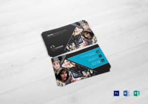 Modern Photography Business Card Template for Photography Business Card Template Photoshop