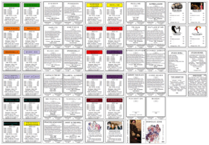 Monopoly Cards Template ] - Monopoly Property Cards Template inside Monopoly Property Card Template