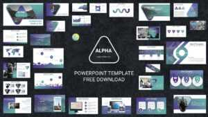 Morph Free Powerpoint Templates 2018 – Alpha in Multimedia Powerpoint Templates