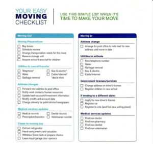Moving Checklist Template Templates Word Dsheet House Move in Moving Home Cards Template
