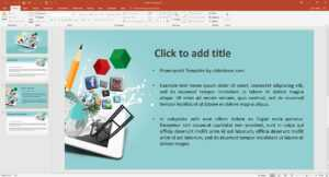 Multimedia Design Presentation Template | Prezibase for Multimedia Powerpoint Templates