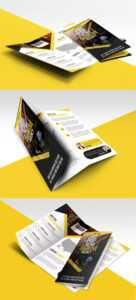 Multipurpose Trifold Business Brochure Free Psd Template regarding Free Tri Fold Business Brochure Templates