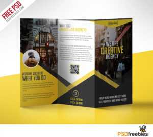 Multipurpose Trifold Business Brochure Free Psd Template With Regard To Medical Office Brochure Templates