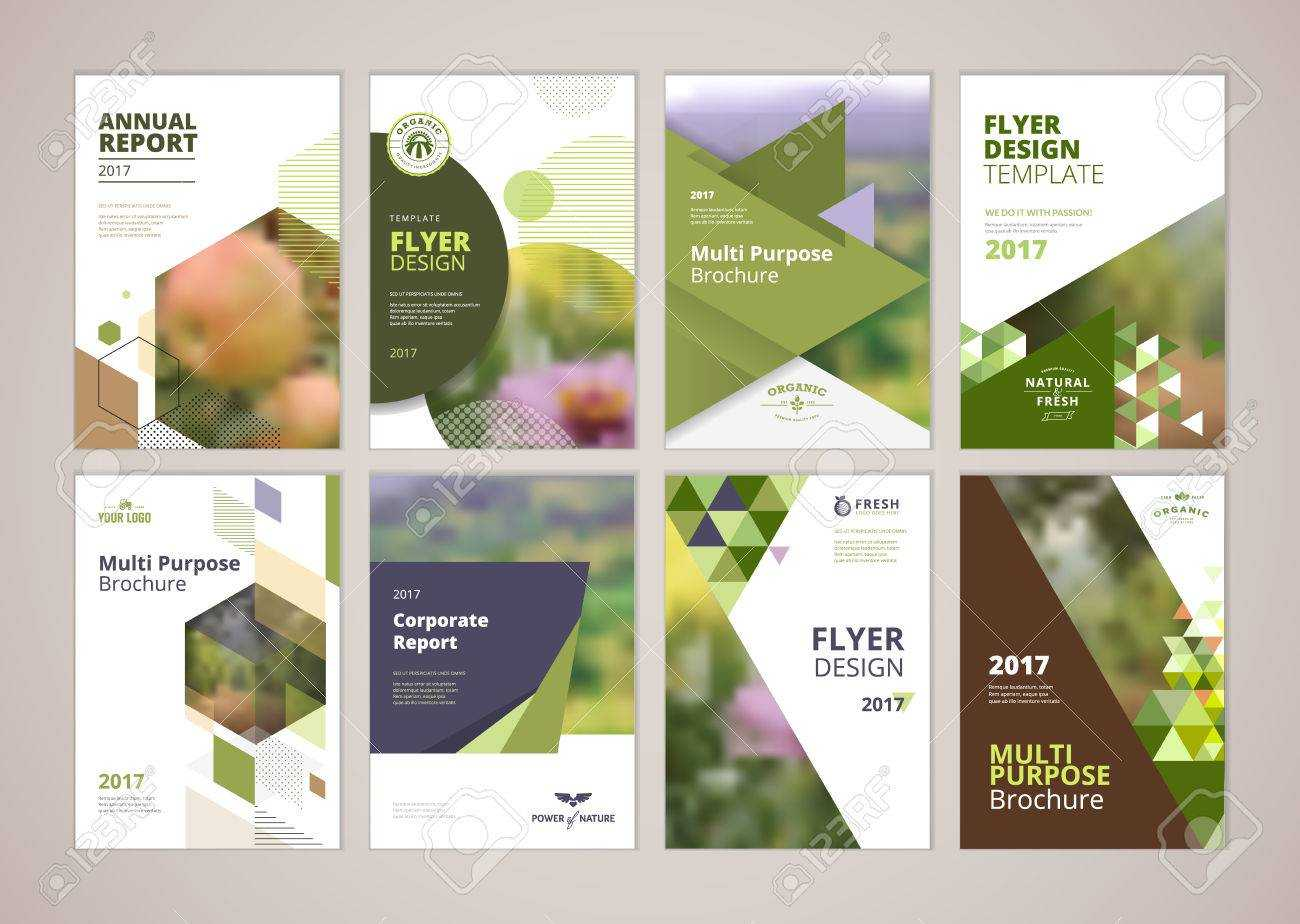Natural And Organic Products Brochure Cover Design And Flyer.. Regarding Product Brochure Template Free