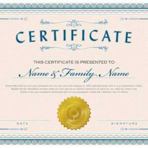 Necessary Parts Of An Award Certificate with 5Th Grade Graduation Certificate Template