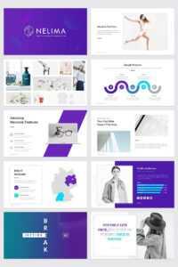 Nelima – Modern & Minimal Presentation Powerpoint Template for Pretty Powerpoint Templates
