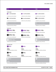 New School Visual Identity & Downloads throughout Nyu Powerpoint Template