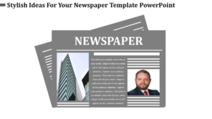 Newspaper Template Powerpoint pertaining to Newspaper Template For Powerpoint
