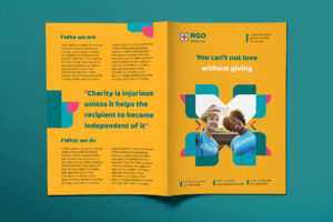 Ngo Templates Suite On Behance for Ngo Brochure Templates