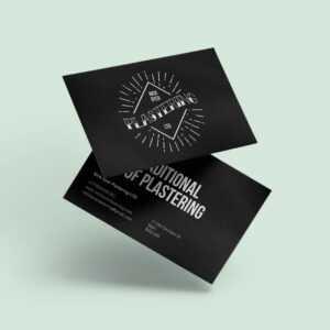 Nick Dyer Plastering | Createdjasmine throughout Plastering Business Cards Templates
