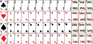 Not Learning: Spider Solitaire Flashcards | Hanguk Babble in Deck Of Cards Template