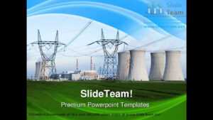 Nuclear Power Station Technology Powerpoint Templates Themes throughout Nuclear Powerpoint Template