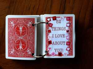 Om Mani Padme Hum: 52 Things I Love About You! intended for 52 Things I Love About You Deck Of Cards Template