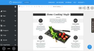 Online Brochure Maker: Design A Brochure For Free in Online Free Brochure Design Templates