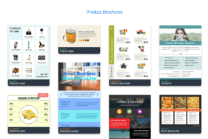 Online Brochure Maker: Design A Brochure For Free intended for Online Brochure Template Free