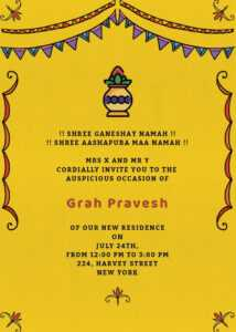 Online Invitation Card Designs – Invites throughout Free Housewarming Invitation Card Template
