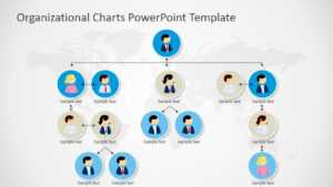 Organizational Charts Powerpoint Template inside Microsoft Powerpoint Org Chart Template