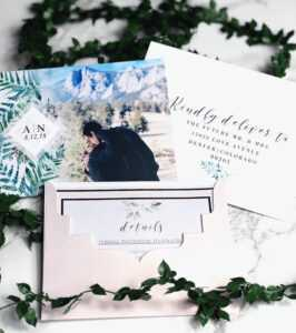 Our Save The Dates! Photo From Vistaprint, Envelope with regard to Michaels Place Card Template