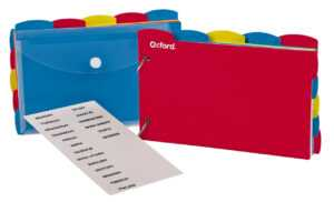 "Oxford Just-Flip-It Note Card Organizer, 4""x 6"", Assorted, 12 Pk/ct within 4X6 Note Card Template"