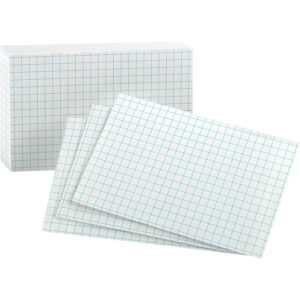 """Oxford Printable Index Card – 3"""" X 5"""" – 90 Lb Basis Weight – 100 / Pack –  White within 3 By 5 Index Card Template"""